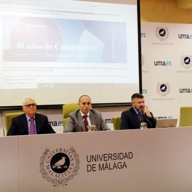 Llega a Málaga el XVI congreso de la Asociación de Constitucionalistas de España