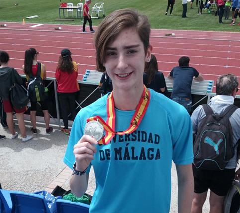 La UMA sigue sumando medallas en los Campeonatos de España Universitarios
