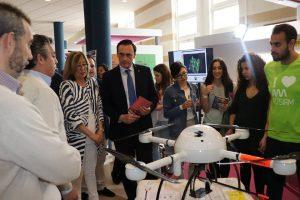 El campus de Rabanales ha acogido por segundo año consecutivo la Feria de Posgrados de la Universidad de Córdoba.