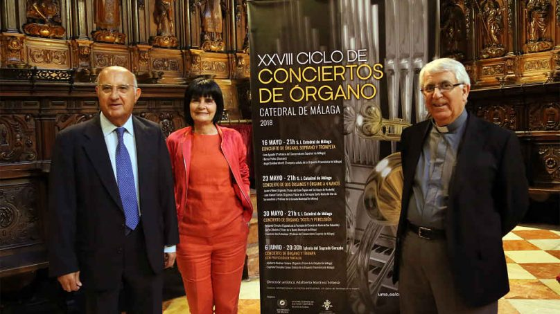 Txistu y percusión, protagonistas del XXVIII Ciclo de Órgano de la UMA