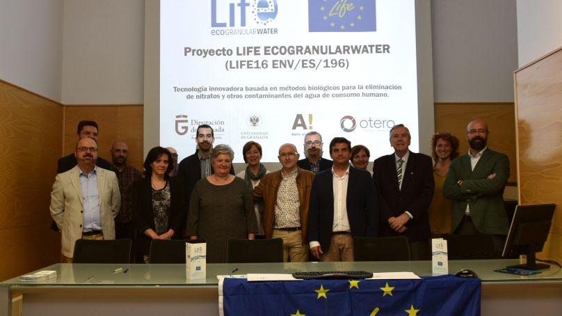 Proyecto Life Ecogranularwater, por la eficiencia en el uso de agua potable