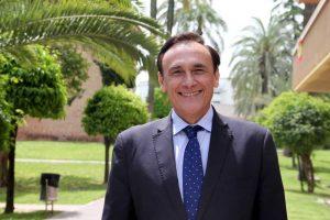José Carlos Gómez Villamandos, rector de la Universidad de Córdoba, se presenta a la reelección en la Universidad de Córdoba