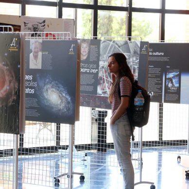 Una exposición de la UMA homenajea a las pioneras de la astrofísica