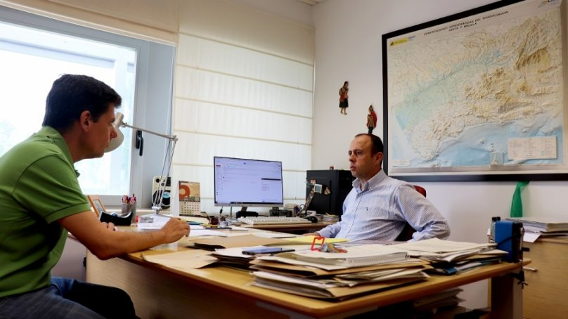 Investigadores de la UCO evalúan los sistemas de riego por telecontrol