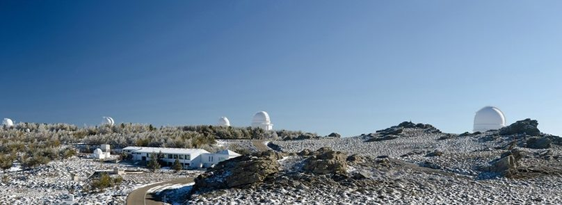 Calar Alto, CSIC y US colaboran en el ámbito de la astronomía