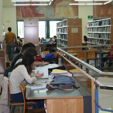 Las bibliotecas de la Universidad de Córdoba se preparan para los exámenes