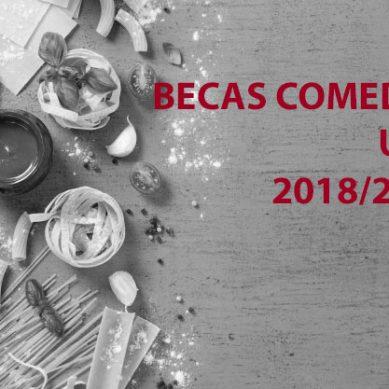 La UHU convoca sus becas comedor para el curso 2018/2019
