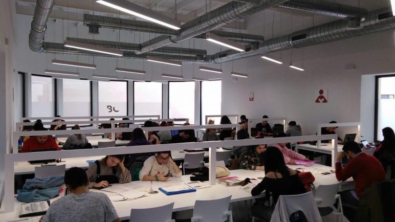 La nueva Biblioteca Central abre dos salas de estudio 24 horas en el centro de la ciudad