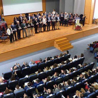 Entrega de reconocimientos para los miembros de la comunidad universitaria jiennense
