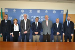 Delegaciones de la UAL y Andalucía Smart City.