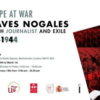 Manuel Chaves Nogales contará su historia en la 12 Star Gallery