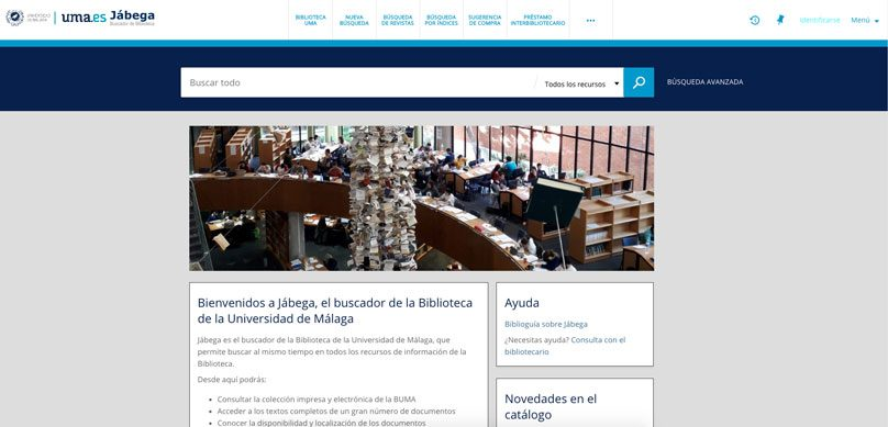 Una biblioteca más accesible a través de Jábega