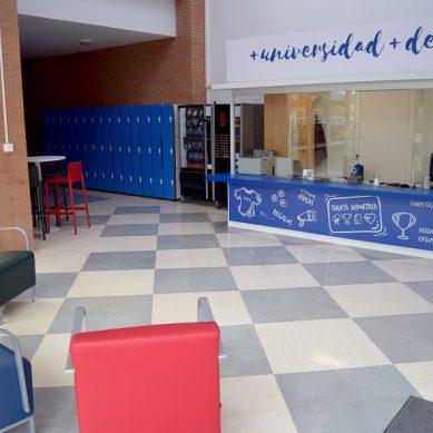 El histórico Pabellón de Deportes UAL se renueva con un aire más moderno