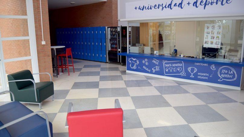 El histórico Pabellón de Deportes UAL se renueva con aires modernos