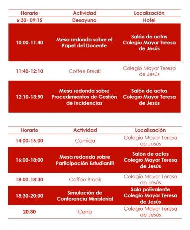 X Encuentro de Representantes de Estudiantes de Universidades Públicas