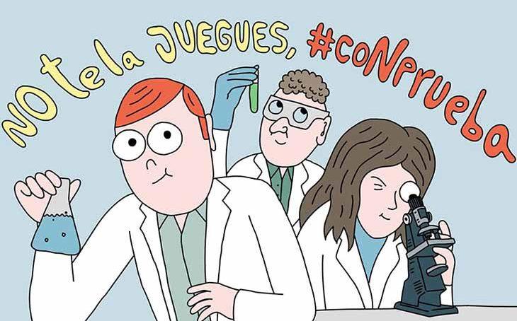 Frente a las pseudoterapias y pseudociencias #CoNprueba