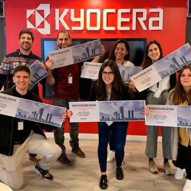 KYOCERA incorpora el mejor talento joven a su cantera en la 4ª edición de Future K