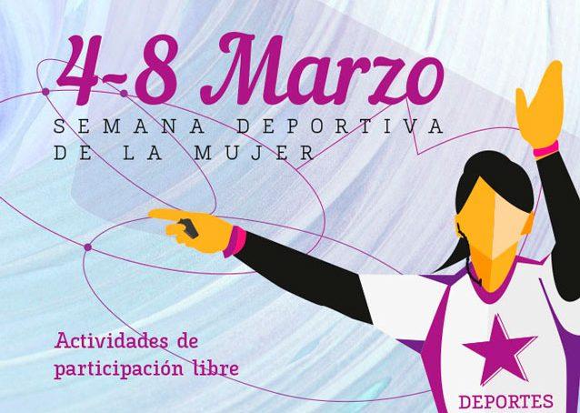 La UMA celebra el día de la Mujer con una 'Semana deportiva'
