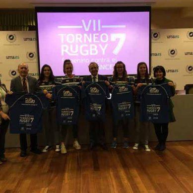 El equipo de rugby femenino en la lucha contra el cáncer
