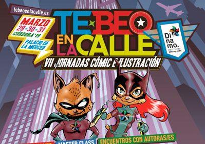 Córdoba se preparara para las VII Jornadas de Cómic e Ilustración 'Te-beo en la calle'