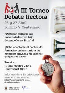 Torneo de Debate Rectora, un espacio para defender la universidad