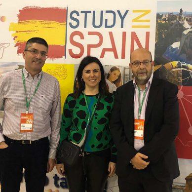 Presencia de la UAL en la Feria Study in Spain celebrada en Moscú