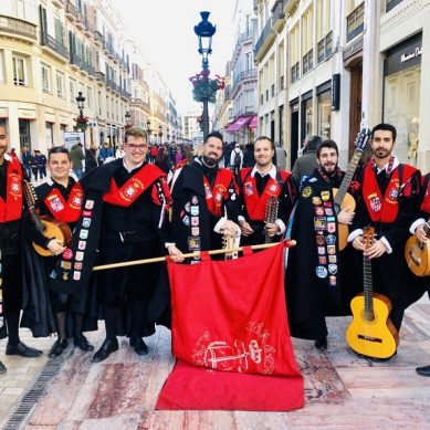 La Tuna de Derecho de Almería logra en Málaga dos nuevos premios