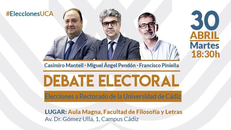 Aula Magna y Ceuca organizan el primer debate electoral de candidatos a rector que acoge la UCA en toda su historia