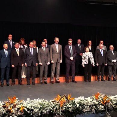 Encuentro entre el Rey Felipe y el equipo de gobierno de la UJA