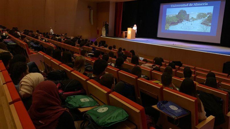 Orientación preuniversitaria en la UAL para más de 4.000 estudiantes de la provincia