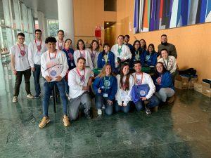 Estudiantes embajadores de las jornadas de orientación preuniversitaria en la UAL.