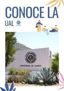 Portada de la revista 'Conoce la UAL' entregada a los alumnos.