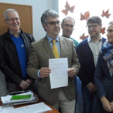 """Pendón registra su candidatura a Rector de la UCA centrado en """"atender a las personas"""""""