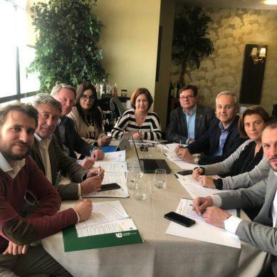 Reunión estratégica en la Fundación Universidad de Jaén-Empresa