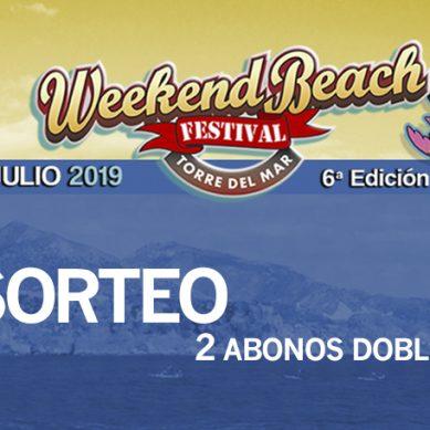 ¿Te vas quedar sin ir al Weekend Beach Festival? Consigue uno de nuestros 2 abonos dobles