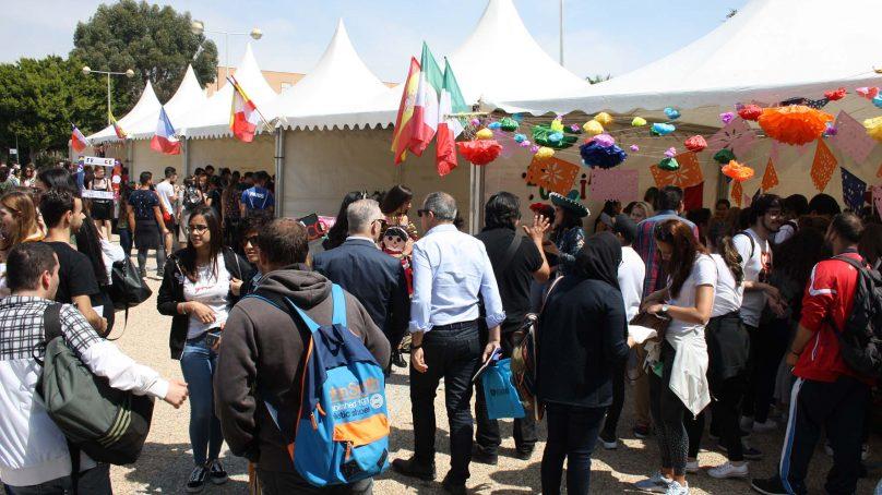 La UAL se convierte en crisol de culturas con la IV Feria de las Naciones