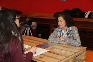 Entrevista Pilar Aranda elecciones al Rectorado UGR 2019