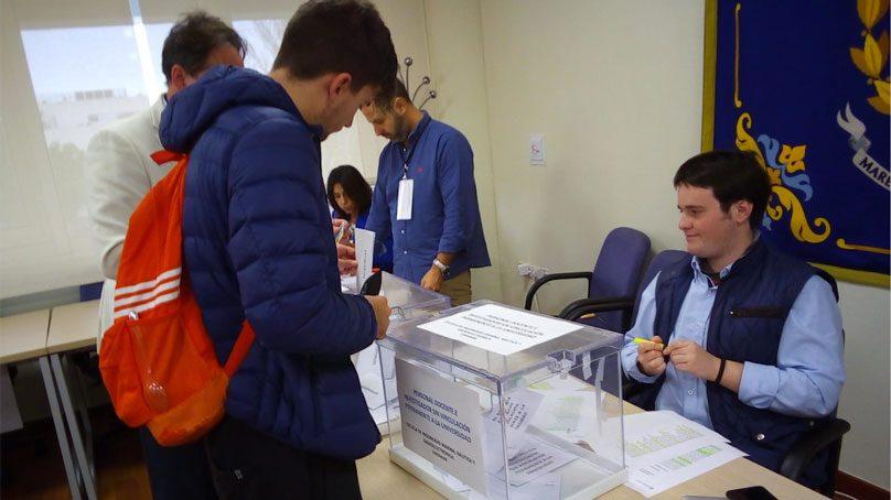 Normalidad a esta hora en las elecciones a rector de la UCA