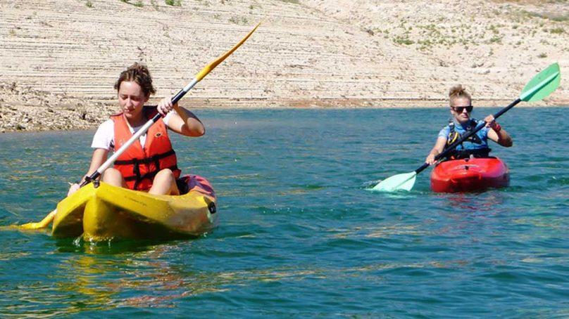 Deportes en el agua para los meses de mayo y junio en la UJA