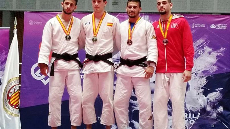 Medalla de Plata para la UJA en los CEU de Judo