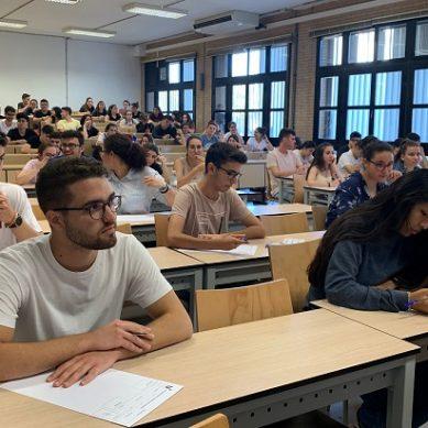 Los exámenes de PEvAU 2019 arrancan sin incidentes en Almería