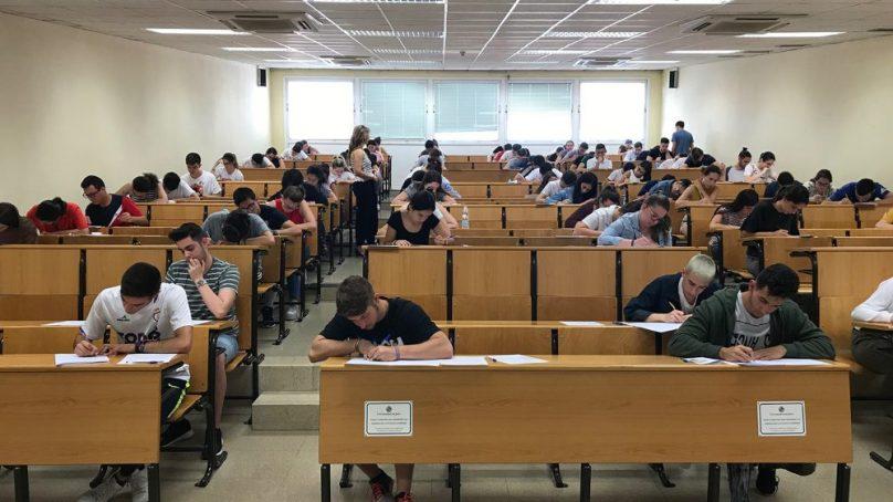 Más de 3.000 estudiantes convocados a las pruebas de acceso a la universidad en Jaén