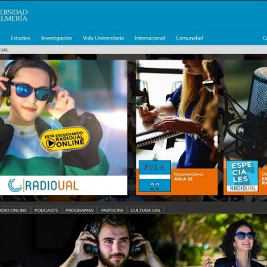 Nueva página web de RadioUAL, más dinámica y participativa