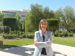 Encarnación Ruiz, vicerrectora de Estudiantes de la UJA.
