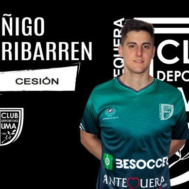 El BeSoccer CD UMA Antequera cierra la incorporación de Íñigo Iribarren