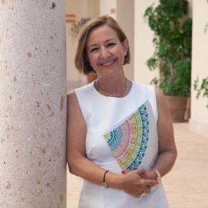 Ana Cañizares, presidenta de la Junta Electoral de las próximas elecciones al Rectorado de la UMA. Imagen de Twitter