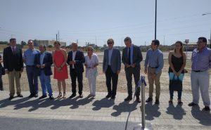 La Universidad de Málaga ianugura el tramos del Boulevard Louis Pasteur que conecta todo el campus de Teatinos tras ocho años de espera.
