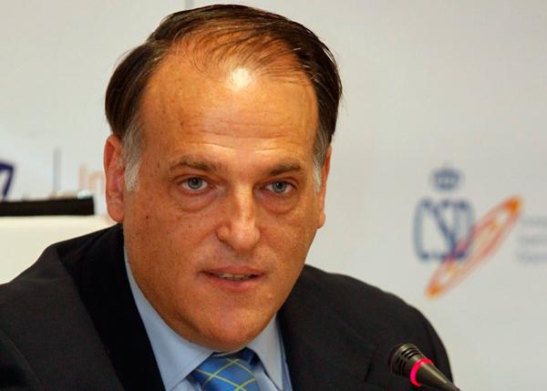 Javier Tebas dará la conferencia inaugural de los Cursos de Verano de la UNIA
