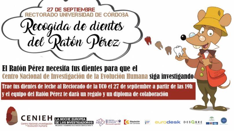 El Ratón Pérez recogerá dientes de leche durante la Noche Europea de los Investigadores