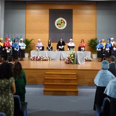 El rector de la UJA insta a la Junta a mantener una apuesta decidida por el sistema universitario andaluz en el acto inaugural del curso